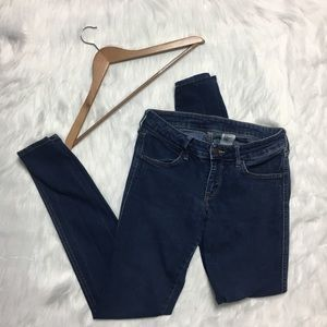 Dark Wash Skinny Denim Jeans